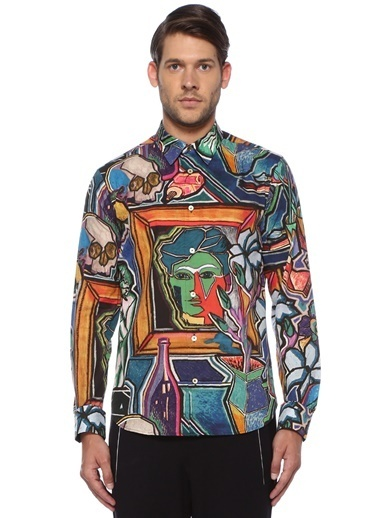 Paul Smith Gömlek Renkli
